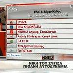 Πιθανή η αυτοδυναμία του ΣΥΡΙΖΑ. Θρίλερ για τον ακριβή αριθμό εδρών #ekloges2015 @NChatzinikolaou http://t.co/5xP89OZ0av
