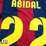 RT ce msg ???? Gagnez ce maillot @FCBarcelona dédicacé par @EAbidalOfficial ➡️ Follow @beinsports_FR + Envoyez #LECLUB http://t.co/J529lVSAst
