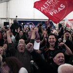 Com campanha anti-austeridade, partido de esquerda Syriza vence eleições na Grécia. http://t.co/HTHWLefTlS http://t.co/omuoCX4Dco