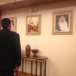 """""""Vengo a transmitir condolencias directamente al rey Salmán y a toda la familia del rey Abdalá"""" @NicolasMaduro http://t.co/DYZlZtnZao"""