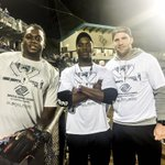 With my #UCF brothers last week @BBortles5 & @rship1119 at Chris Duffys Celebrity Softball Game... We won! ???? http://t.co/26gaCjP1TC