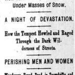 The snow storm of 1888 in #NYC is on par for the predictions of tomorrows #blizzardof2015. http://t.co/yP489kXMBX