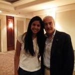 Con el expresidente Pastrana luego de nuestra exposición sobre la situación de nuestros compañeros en el Sebin http://t.co/tnAuw1dO7r