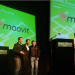 Honored to be named both @geektimecoils Best Israeli Mobile Startup AND Best Israeli Startup -Overall- #moovitFTW http://t.co/693w5bjrpU