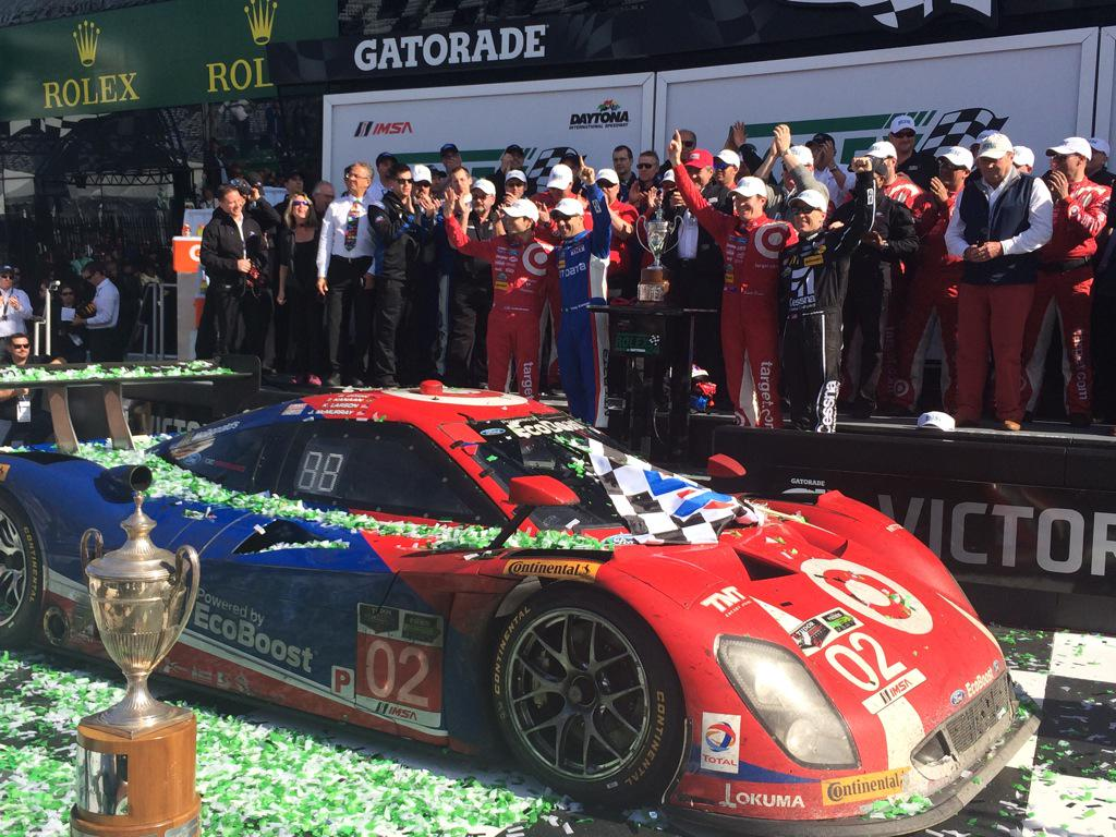 Victory Lane! #02 #TeamGanassi #Rolex24 2015 Champions http://t.co/aDgqSCZ8HZ
