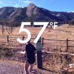 Gorgeous day to be running/hiking at Chautauqua! Near 70 tomorrow! #boulder #cuboulder http://t.co/nvqMiI70TU