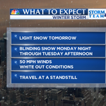 A record breaking snowfall is possible late Monday into Tuesday afternoon. http://t.co/oURJuuxK9E
