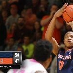 Virginia improves to 19-0, 7-0 ACC with a 50-47 win over Virginia Tech. UVa hosts Duke on Saturday. #UVAvsVT http://t.co/zpyVx74unH
