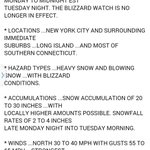The @NWSNewYorkNY has revised the forecast upward for 20-30 inches of snow in NYC. This is going to be some storm. http://t.co/SYDQyMg46H