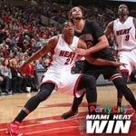 #HEATWin! @YoungWhiteside earns a triple-double (14/13/12) to lead your @MiamiHEAT to a 96-84 victory over the Bulls. http://t.co/oVg9Pna3vi