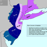 NEW: Storm Total Snowfall Forecast has been updated as of 4:00pm. http://t.co/94KqDxGA6e