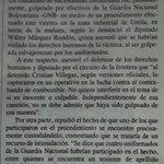 ATENCIÓN: Hago un llamado a autoridades colombianas para denunciar la violación de DDHH en frontera con Venezuela http://t.co/DLhMAXgZlB