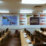 Go Jacks! RT @theearlyjesus: @NAU can you tell a certain bias in my newly decorated classroom! #lumberjack #NAU http://t.co/CeOogK0JwY
