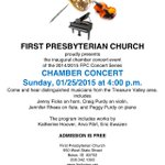 Looking for something to do? Free Chamber Concert at First Prsbytrian Chrch at 4pm. Crner of State /10th St. #boise http://t.co/TUdVUpGUc9