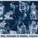 Congratulations to Coach K on 1,000 Division I wins. Nobody has ever done it better. Ever. http://t.co/FxtssyBfzF
