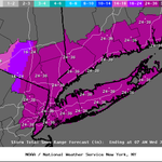 BREAKING: @NWSNewYorkNY has updated their models, possible 2-3 FEET of snow expected Mon.-Tues. #blizzardof2015 #NYC http://t.co/cDpBXz6gnw