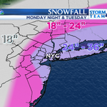 A MAJOR snowstorm will push into the area staring late tomorrow. Record breaking snow is possible. http://t.co/09YDweltA4