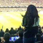 La q + ha disfrutado esta noche en el palco de Mestalla, justo detrás de Salvo, la entusiasta hija de Peter, Kim Lim. http://t.co/i1RcIQ9lKB