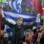 This is what Athens looks like right now http://t.co/o98ITMH0R6 #greeceElections http://t.co/xQNEfGZ8rq