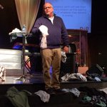 """The thing about dirty laundry is we all have it!"" -Pastor @SteveDHolder #RIPreligion http://t.co/5ssdKyLxW0"