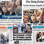 #greeceElections dominates Mondays UK newspaper front pages #tomorrowspaperstoday http://t.co/rR6zak49kP #bbcpapers http://t.co/y3n66TwIES
