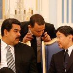 Además @NicolasMaduro se reunió con el príncipe heredero de Japón, Naruhito, para tratar asuntos bilaterales http://t.co/FUdvH1e5bp
