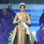 Maria Gabriela Isler se despide del Miss Universo. #RumbaMissUniversoVE http://t.co/FSnilUqwKt