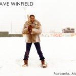 Blizzard?  What blizzard?  Time for Snowshoe Baseball. @DaveWinfieldHOF @Goldpanners #fairbanks #alaska http://t.co/uNw8P5DV76