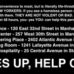 NEW YORK FOLKS: we have fun here, but keep please eyes up for sleeping homeless in the blizzard http://t.co/n1QpJN1Ge2