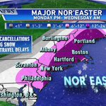 Updated snowfall forecast! Most falls late Monday through Tuesday! @danpeckwx http://t.co/YjJZO90hs9