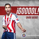 2T 82 ¡Gooooool! de Omar Bravo UDG 1-1 CHI http://t.co/zuyeQgr2A9