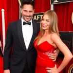 Best Dressed Couple goes to Sofia Vergara & Joe Manganiello on the 2015 @SAGawards Red Carpet #SAGAwards http://t.co/GX8OeTHjlR