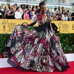 """@Spylight: .@Lupita_Nyongo will forever be the red carpet queen! @SAGawards http://t.co/aPnhAjeTMY #SAGAwards http://t.co/1qJ8ktU2ha"" ????"