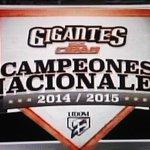 Los Gigantes del Cibao Campeón 2014-2015 .. Felicidades..!! http://t.co/8wLQCrqD6Z