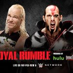 NOW at @WWE #RoyalRumble: The #NewAgeOutlaws battle #TheAscension! WATCH: http://t.co/8OJjarZiuz http://t.co/CnBczOiUu7