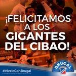 La Felicidad desborda al Julian Javier y gozan la corona de la serie 2014-2014 ¡Felicidades! #viveloConBrugal http://t.co/rxto5BLG3N