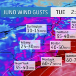 Conditions will deteriorate rapidly Monday night with heavy #snow & gusty wind as #blizzard conditions develop. #Juno http://t.co/PA6wgmrvqD