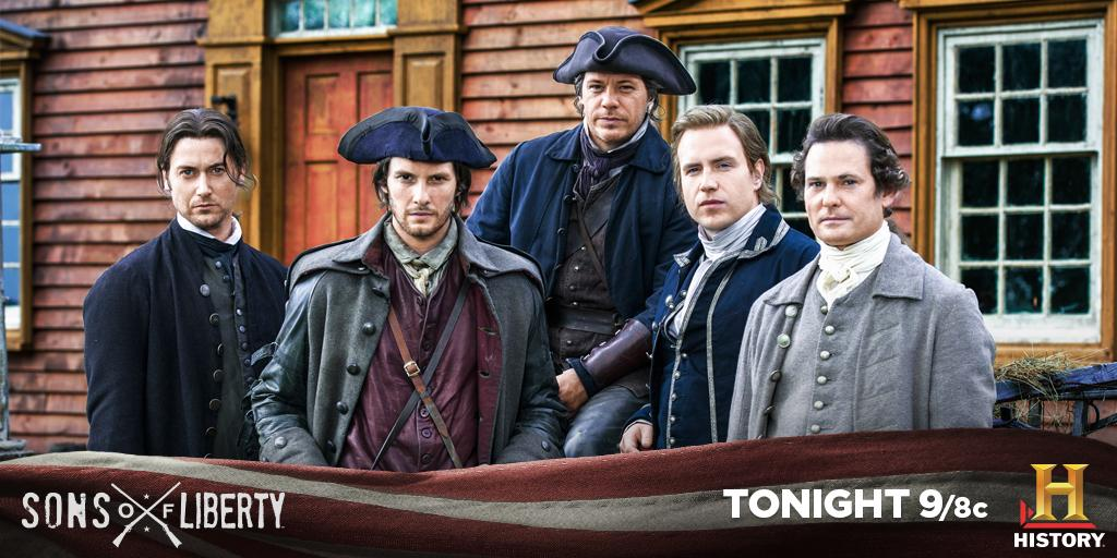 It all started here. RT if you're watching #SonsOfLiberty! http://t.co/HTLa79CM41