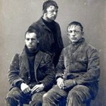 Princeton students after a Freshman / Sophomore snowball fight. Princeton, NJ, 1893. http://t.co/iyYRq5lKtR
