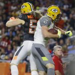 Opposing teams today. #Packers every day.  #ProBowl http://t.co/miaYvFrBRr