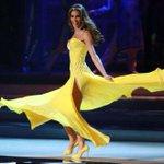 El vestido amarillo de #MissHolanda es un insulto al que usó Dayana Mendoza en su momento http://t.co/sqXE7MgjCC