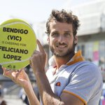 #Bendigo is getting behind @feliciano_lopez in his @AustralianOpen match this afternoon with @milosraonic http://t.co/ZI7je685Ur
