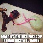 via @Gabox_p: Ahora hasta del jabón hay que proteger contra robo #Valencia http://t.co/0f040tBOOh #Valencia