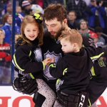 Burnzie with his No. 1 fans following the #NHLAllStar Game. http://t.co/wstLWPWsiw