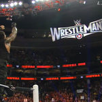 .@WWERomanReigns wins the #RoyalRumble Match, and is going to @WrestleMania! http://t.co/P8FYuFhOnK