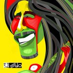 Caricatura EDO: Bob Marley http://t.co/O8BiUtPVa6