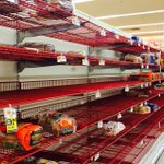 Bread aisle at 24 hr Pathmark. Looks like #Blizzard2015 will be remembered by sandwiches! #nbc4ny http://t.co/5EP9SKP7Ej
