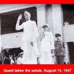 Father of Pakistan Md.Ali Jinnah can salute a flag flag , but not Kattar Muslim Hamid Ansari ? http://t.co/mEVdrKfDpN #ShameOnHamidAnsari