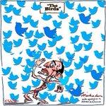 """Social media is just electronic graffiti"" says Tony Abbott #auspol #knightsanddames #ThanksTony http://t.co/BUWBQmgmjq"