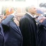 Why Hamid Ansari, Vice-President, isnt saluting our National Flag? Isnt he a #ProudIndian? #IndianRepublicDay http://t.co/xfxNwi4WGU